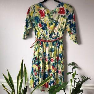 Alice+Olivia floral print dress